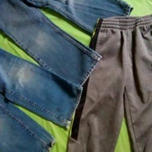 3 pair of pants